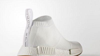 Adida NMD CitySock Gum White Heel