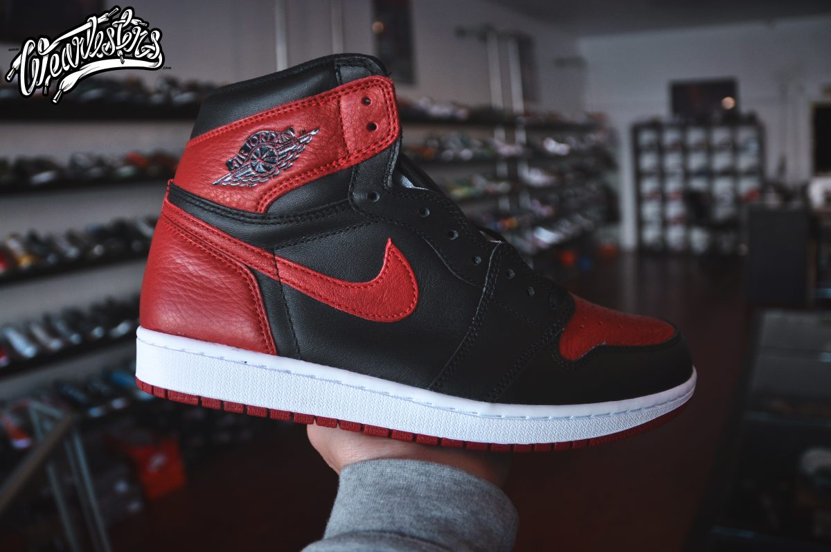 new concept 8d7f7 5494f An Up Close Look at the 2016 Air Jordan 1 'Banned' - WearTesters