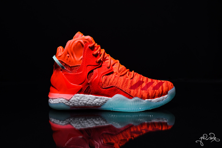 finest selection d59c4 cf21e authentic adidas d rose 7 cny chinese new year black red whi