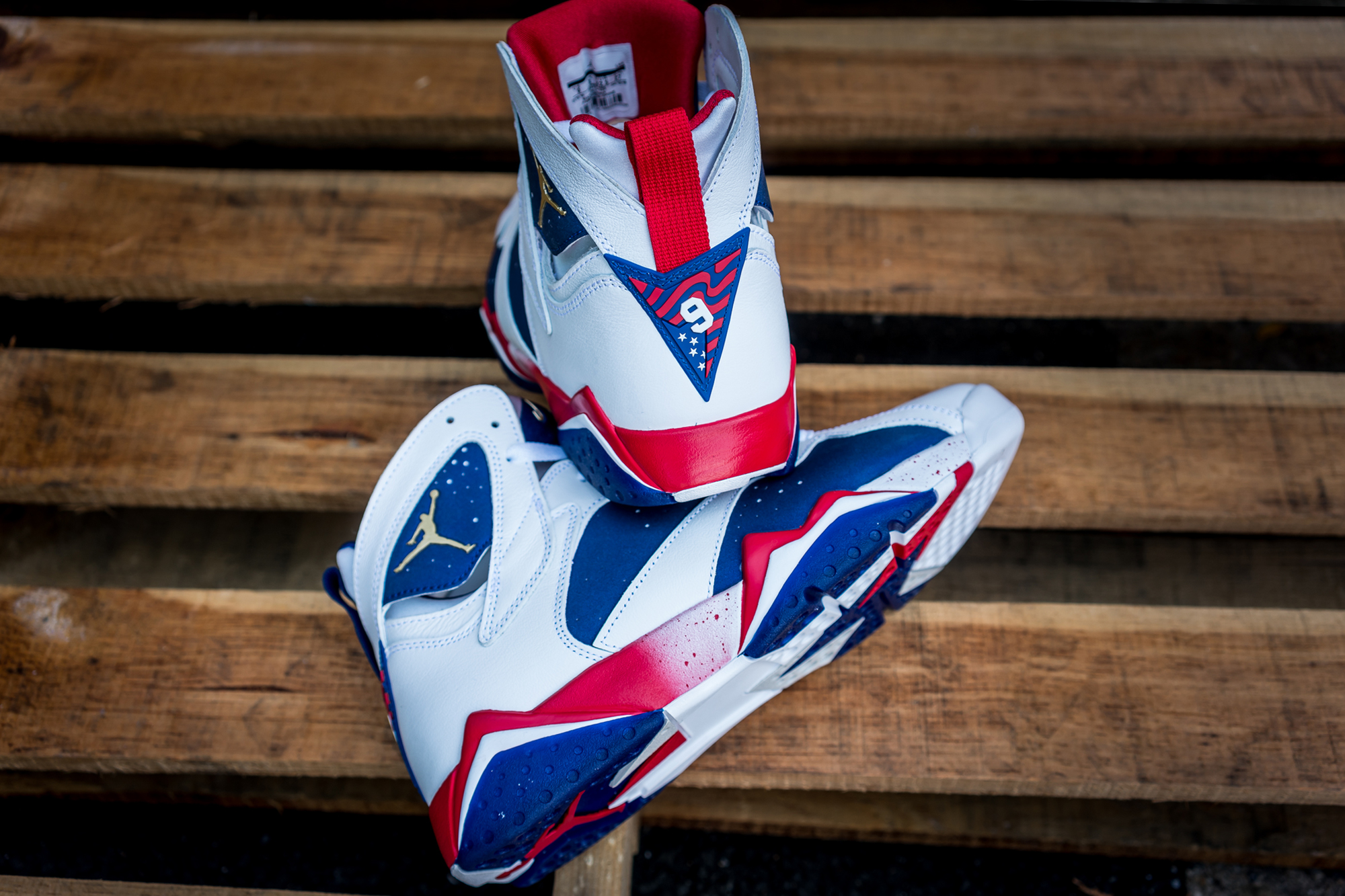 pretty nice b7c7a a1523 Get a Close Look at the Air Jordan 7 Retro 'Olympic ...