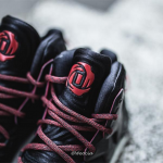 Get a Detailed Look at the adidas D Rose 7 in Black/ Red