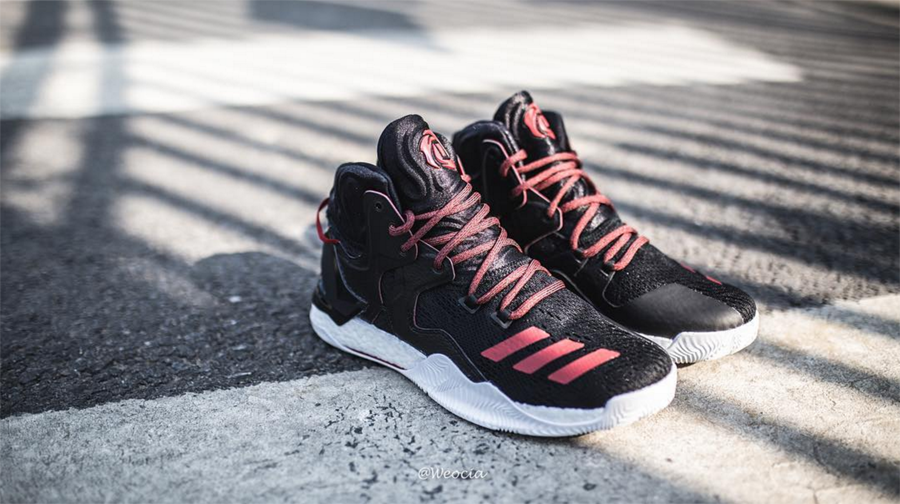 17151a9b1a2 ... herren weiß gute qualität schuheonline shop free shipping get a  detailed look at the adidas d rose 7 in black red 3