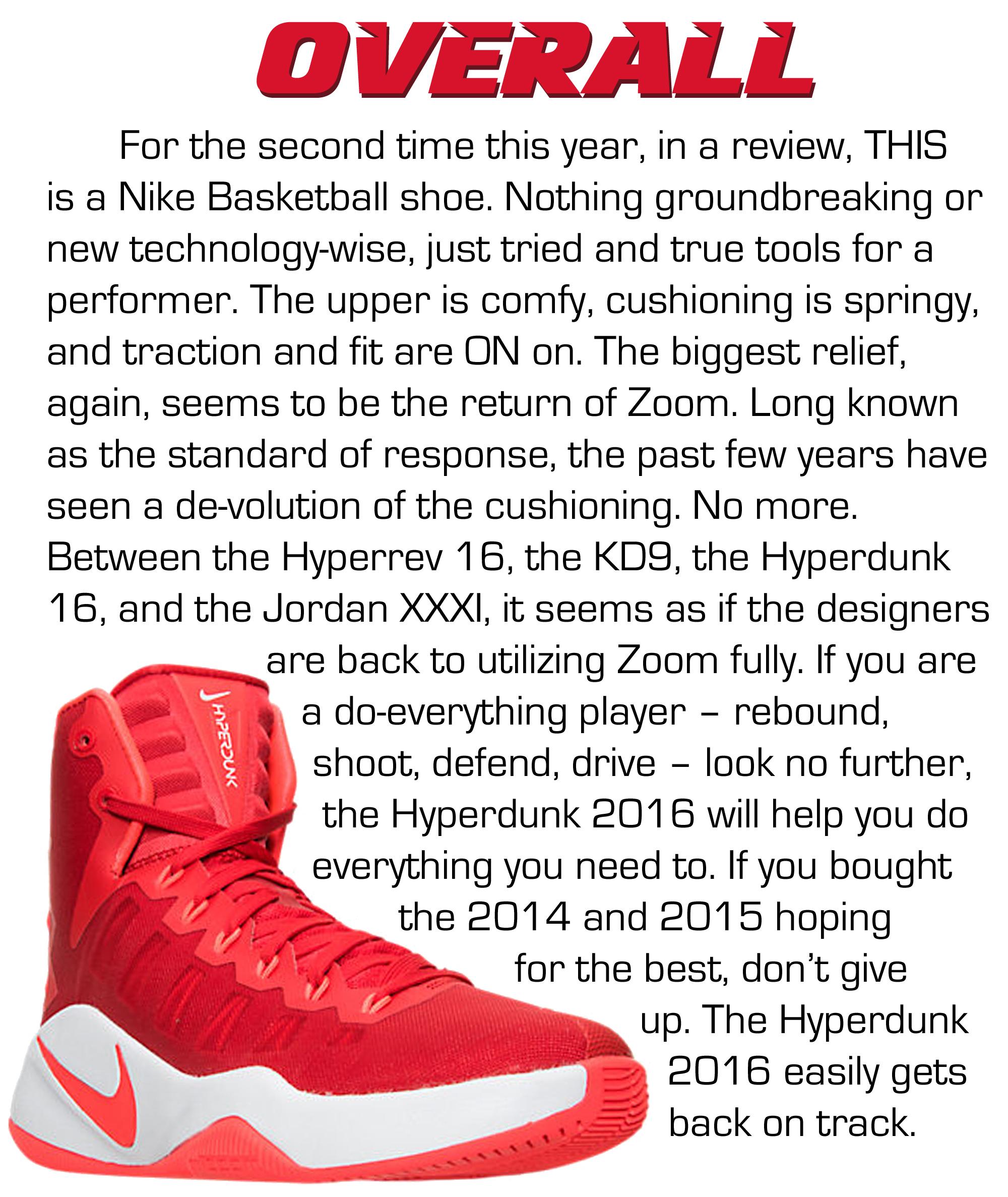 HyperDunk High - Overall