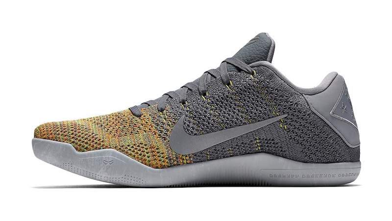 Multicolor Flyknit Finds its Way Onto this Colorway of the Nike Kobe 11  Elite-2 ...