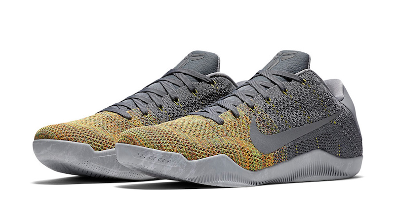 brand new f7bf5 3a3a9 Multicolor Flyknit Finds its Way Onto this Nike Kobe 11 ...