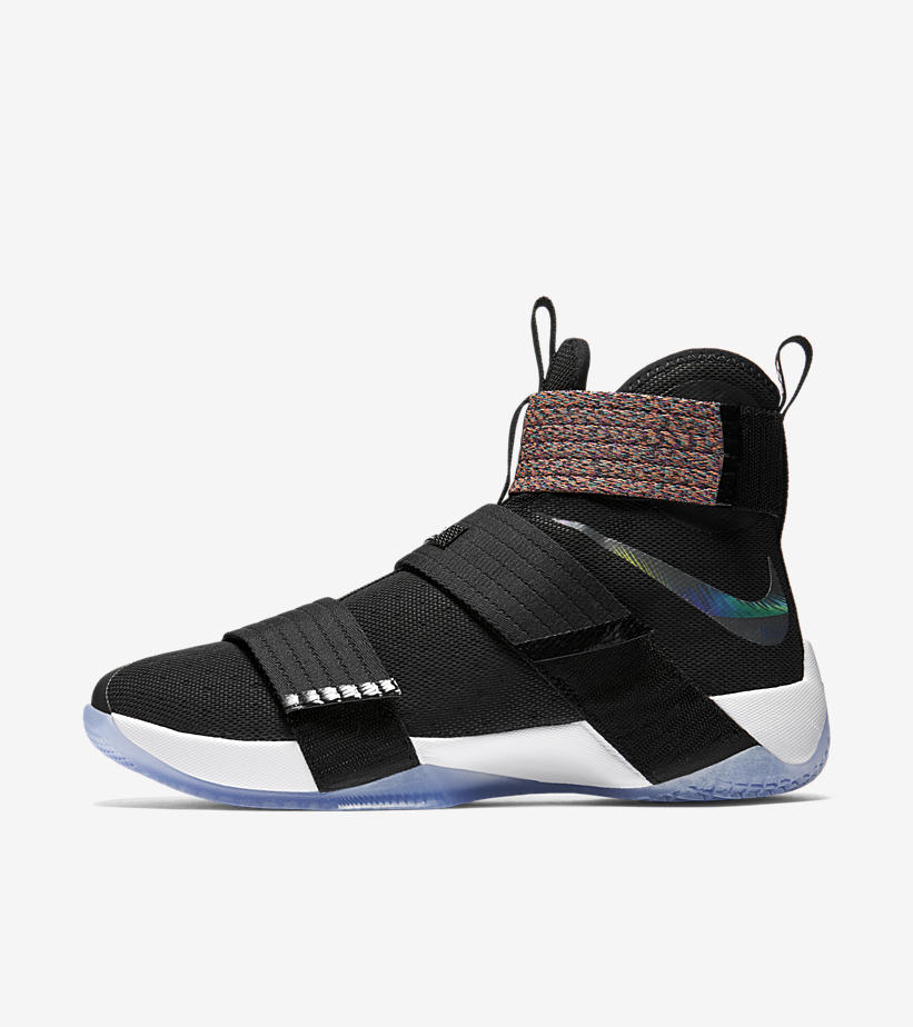The Multicolor Nike LeBron Soldier 10 'Unlimited' is ...