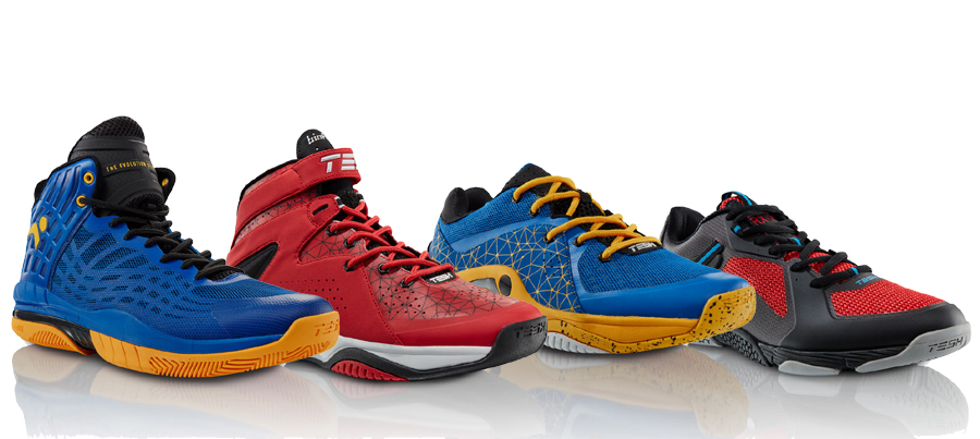 Tesh Sports Introduces New Footwear Lineup For Basketball and Training