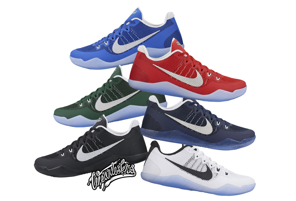 ... The Nike Kobe 11 EM Now Comes in Team Colors - WearTesters ... d09e0db09