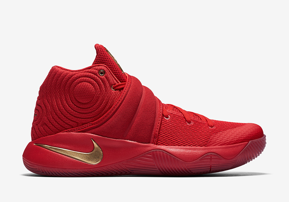 The Nike Kyrie 2 has a 'Gold Medal' Colorway Before Kyrie Has an Actual Gold Medal-2