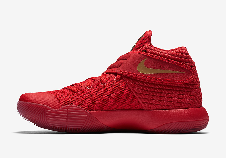 The Nike Kyrie 2 has a 'Gold Medal' Colorway Before Kyrie Has an Actual Gold Medal-3