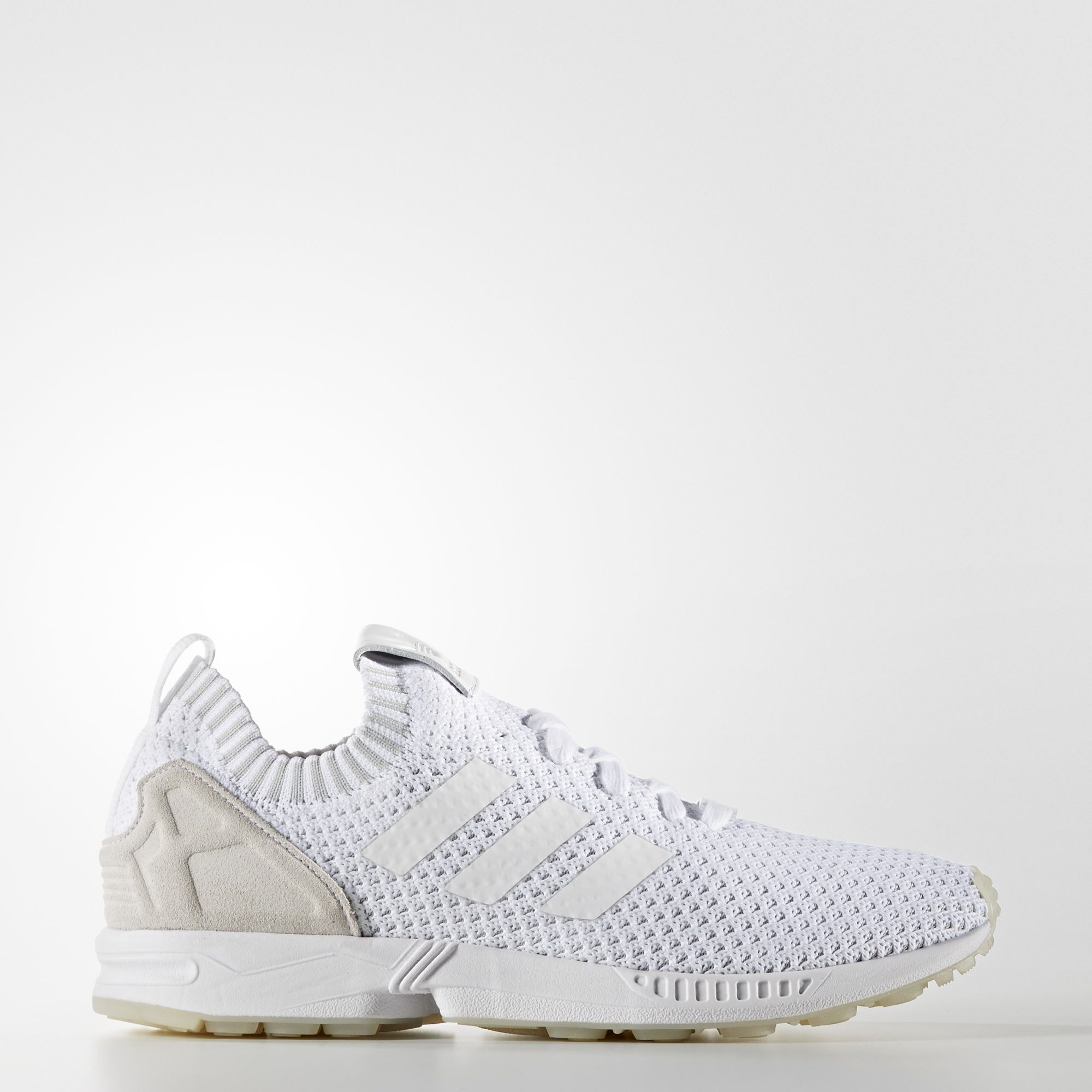 adidas originals zx flux triple white