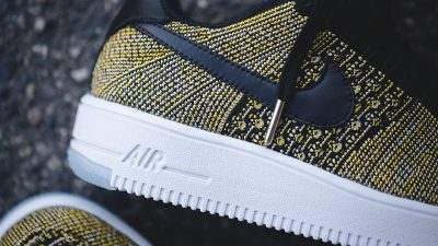 Warrior Fans Will Love this Colorway of the Nike Air Force 1 Flyknit-1