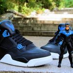 Ecentrik Artistry Air Jordan IV 'Nightwing' Custom