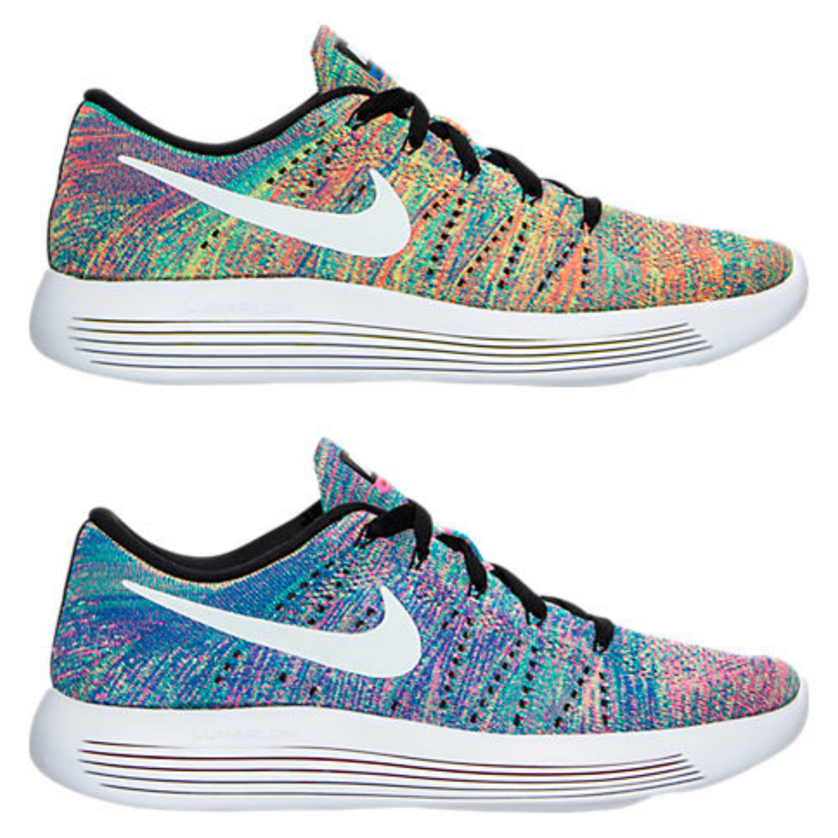 the best attitude 7c6c1 3a405 Multicolor Returns on These Nike Lunarepic Low Flyknit ...