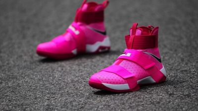 nike lebron soldier 10 breast cancer 9