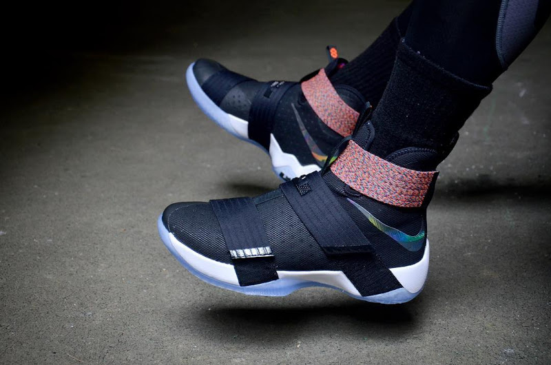 uk availability 9865b ddc02 The Multicolor Nike LeBron Soldier 10 'Unlimited' is ...