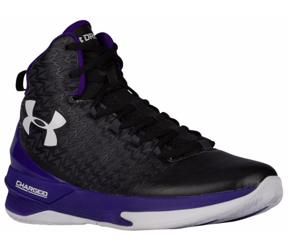 ua clutchfit drive grey purple