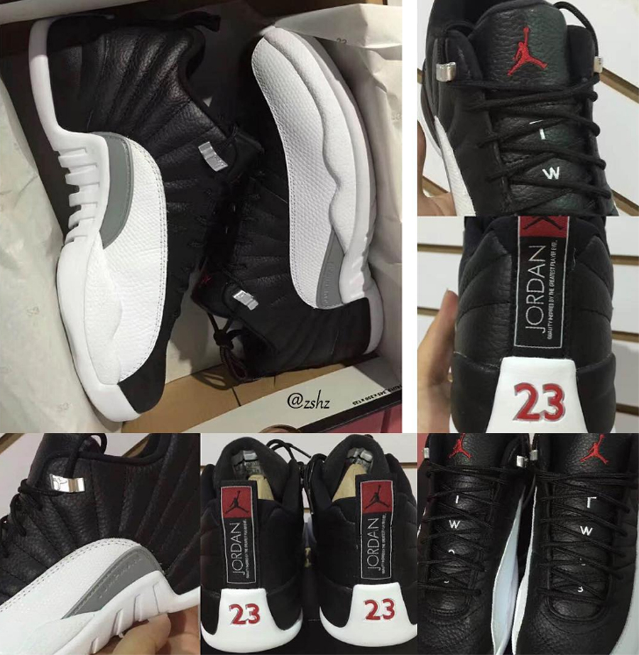 newest 10d07 39b2b Air Jordan 12 Retro Low 'Playoff' | Release Date - WearTesters