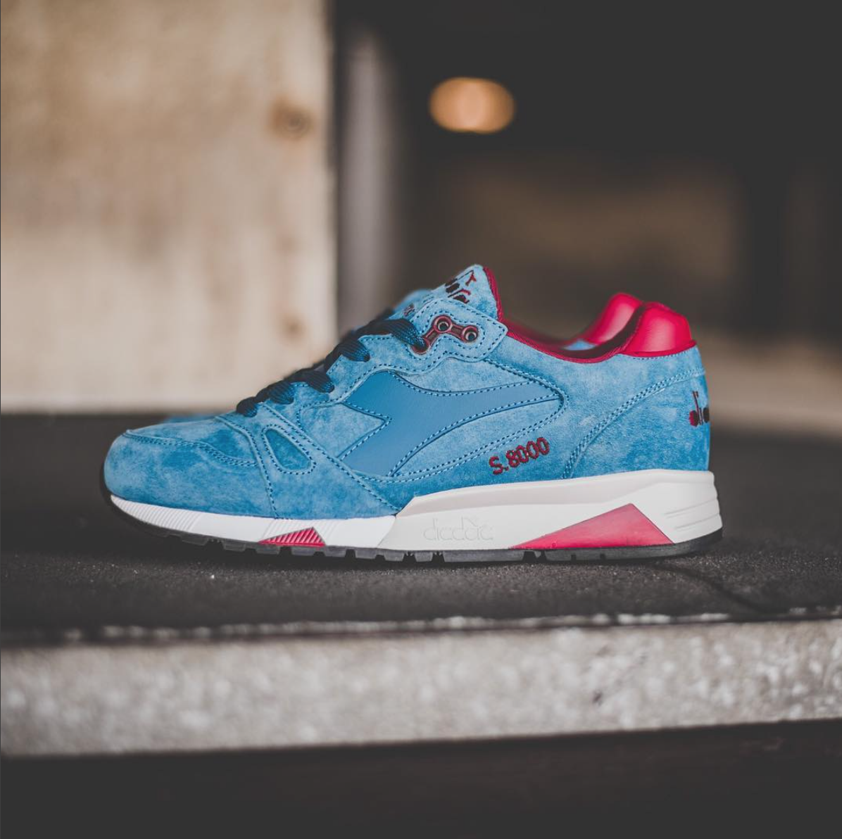 Diadora S.8000 Italia is Now Available in 'Enisgn Blue