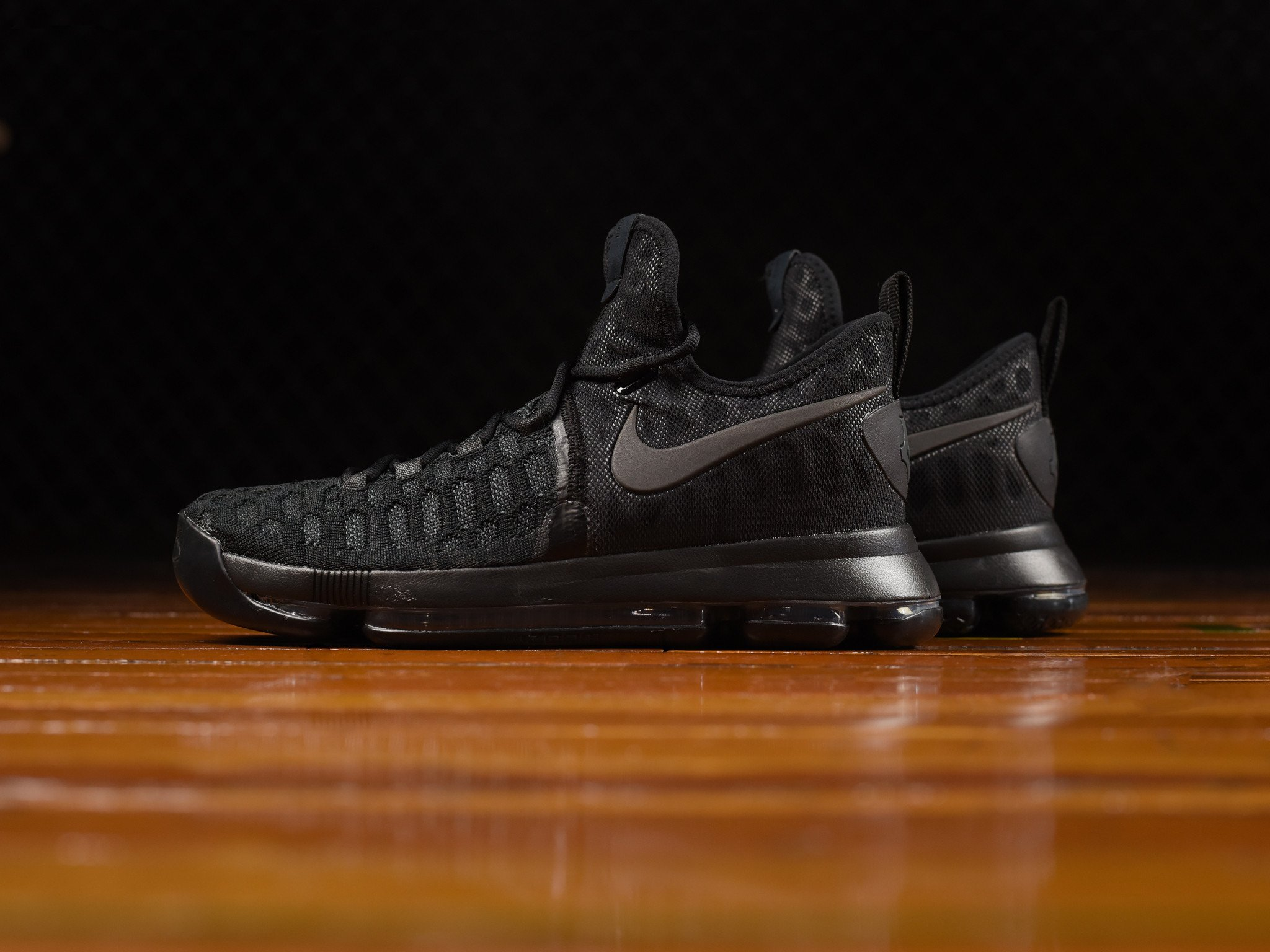 low cost 42bb5 1cfdd Check Out the Nike KD 9 in 'Triple Black' - WearTesters
