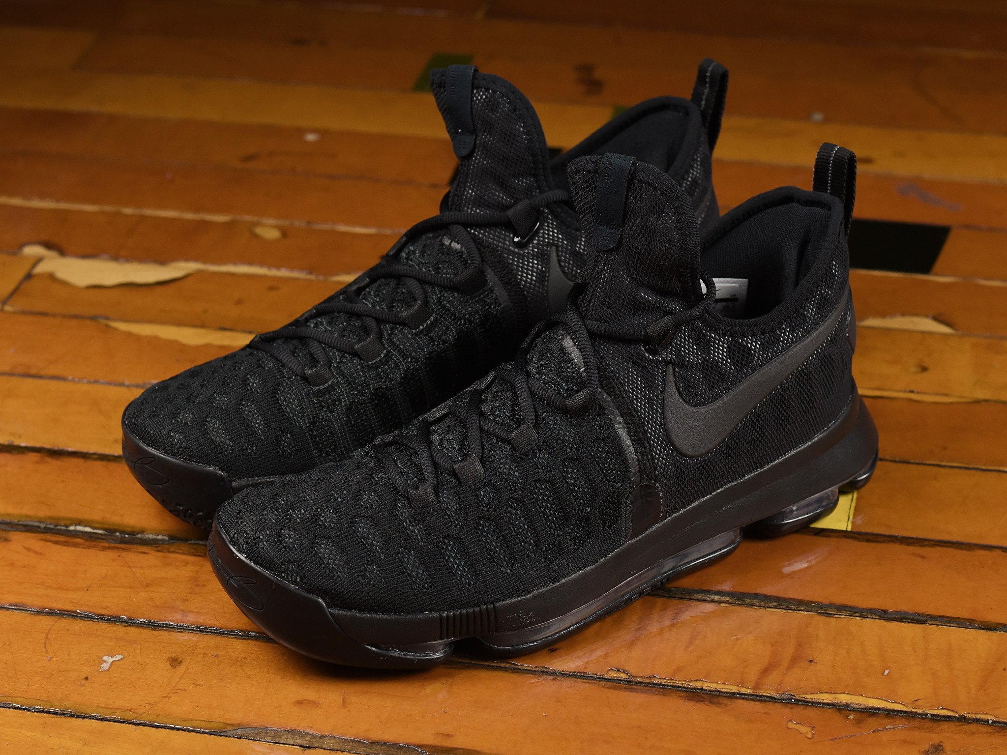 low cost 5d1a2 7aa19 Check Out the Nike KD 9 in 'Triple Black' - WearTesters