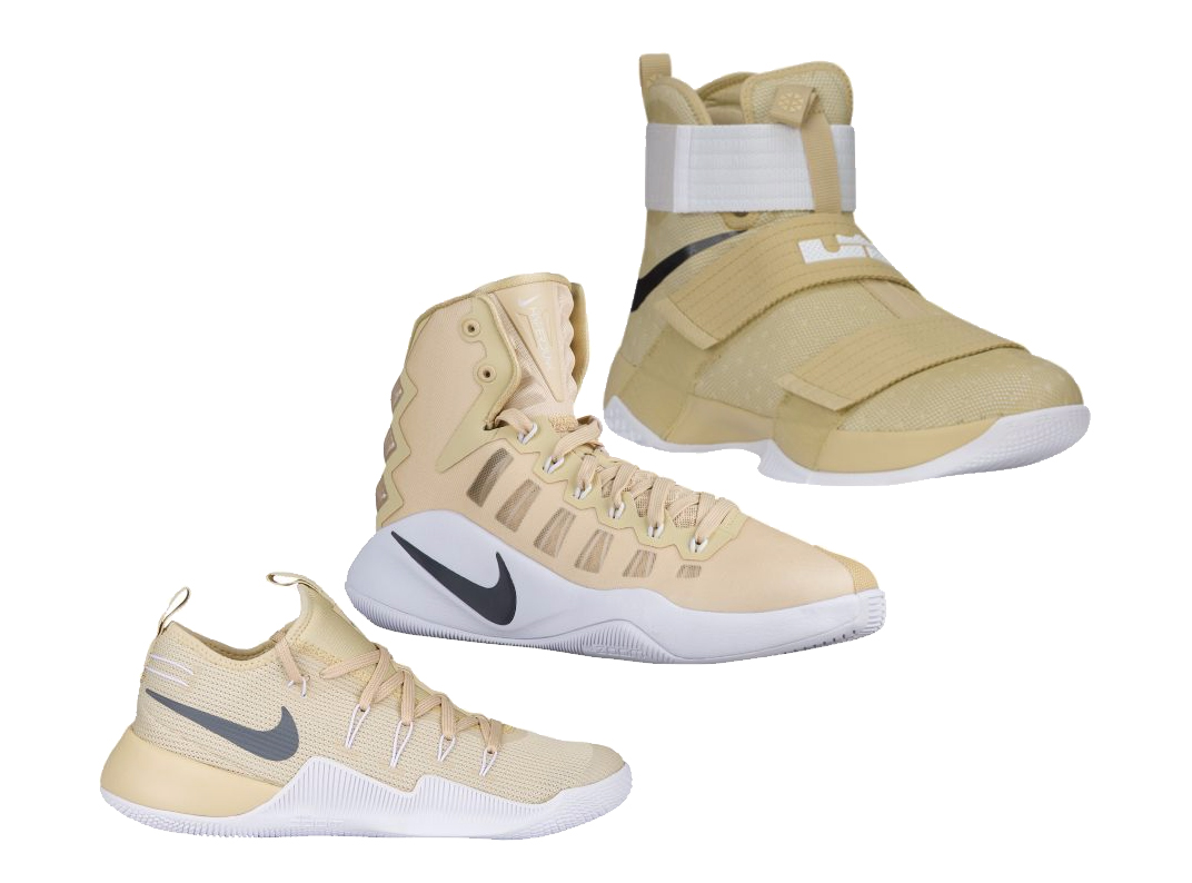 separation shoes ea274 6f962 ... Black Gold Nike Hyperdunk 2015 LA City Pack Nike Basketball Brings Team  Gold to the TB Line - WearTester ...