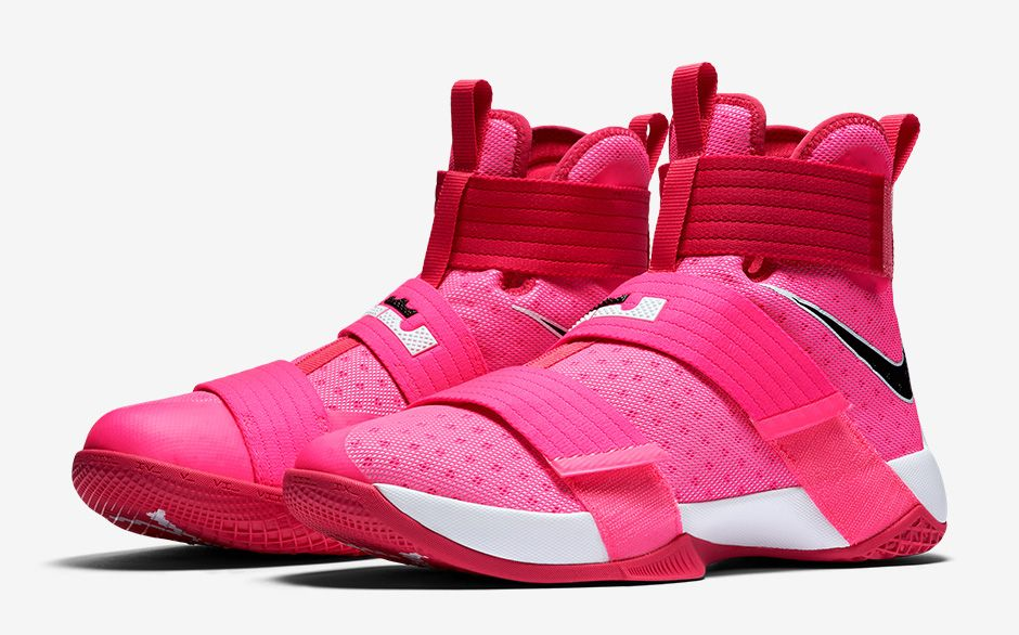 sports shoes 1d686 8ac8e The Nike Zoom LeBron Soldier 10 'Kay Yow' Gets a Release ...
