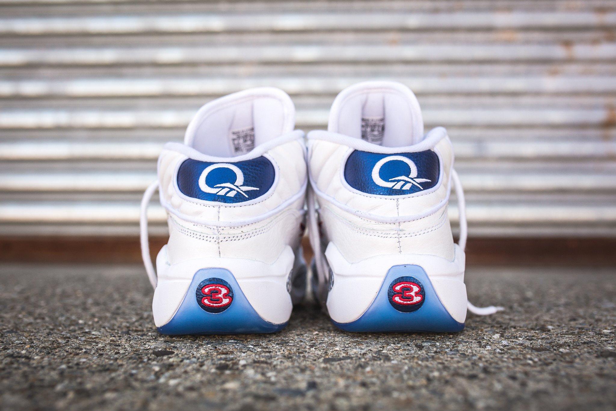 Reebok question blue toe