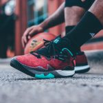 The adidas Crazylight 2016 'Ghost Pepper' James Harden PE is Available Now