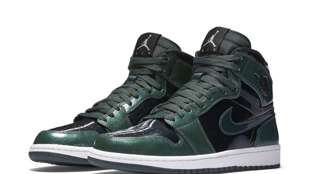 air jordan 1 green grove