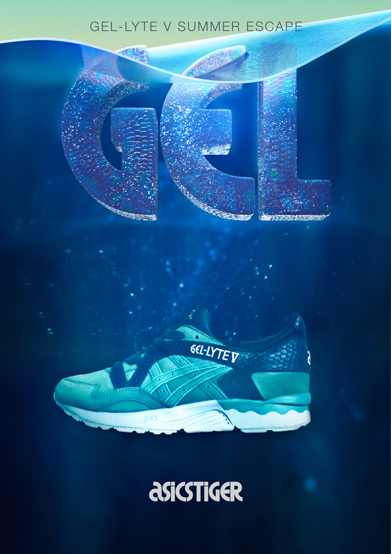 best service 7965a b0048 Asics Celebrated Sea Day with the Gel-Lyte V 'Summer Escape ...