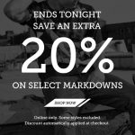 Performance Deals: Extra 20% Off Sale at Footaction