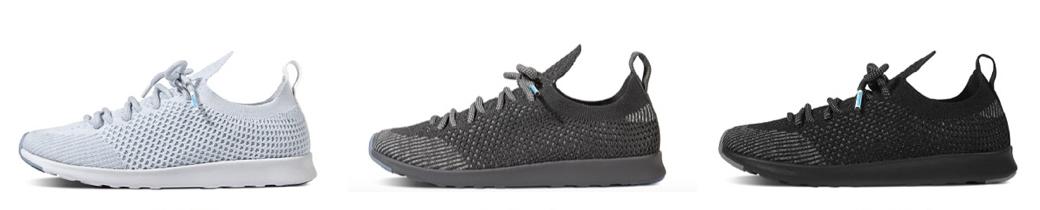 native shoes liteknit mercury