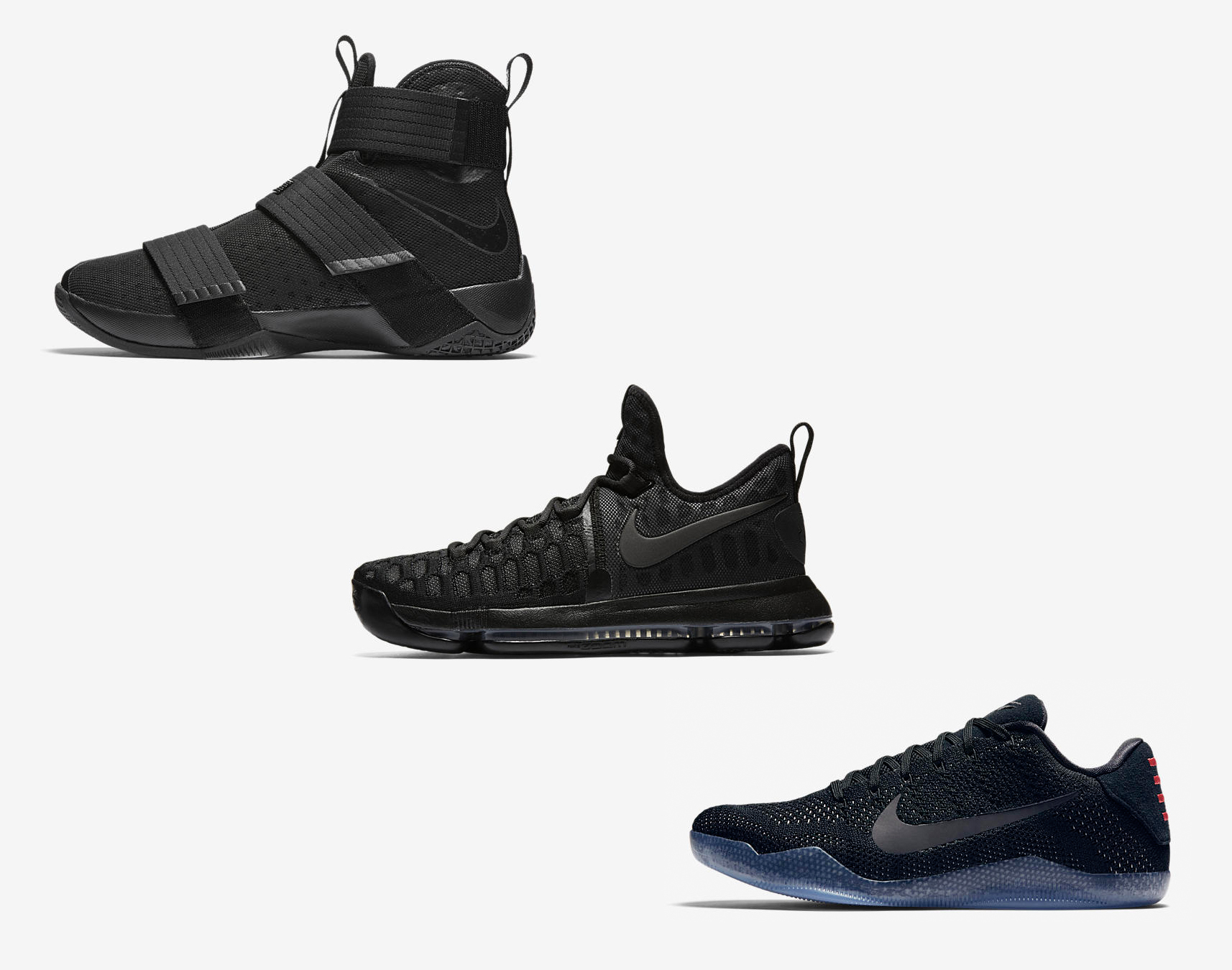 premium selection db43d c0b08 The Nike Basketball 'Black Space' Collection is Available ...