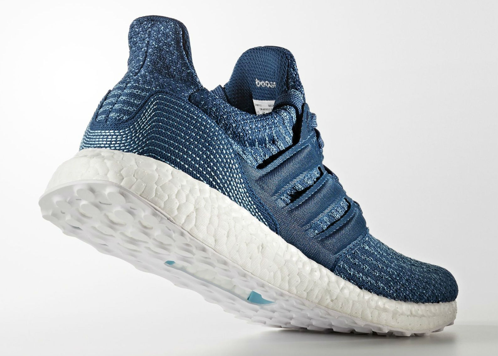 adidas and parley for the oceans collaborate on the adidas ultra boost weartesters. Black Bedroom Furniture Sets. Home Design Ideas