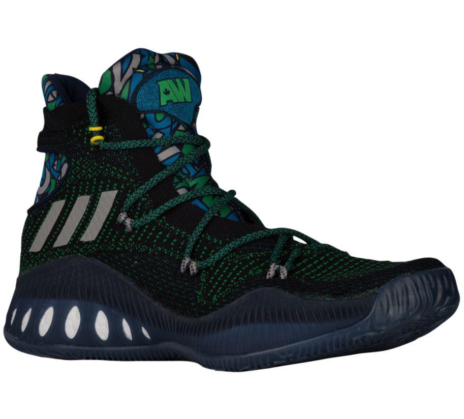 Andrew Wiggins' signature adidas Crazy Explosive shoe
