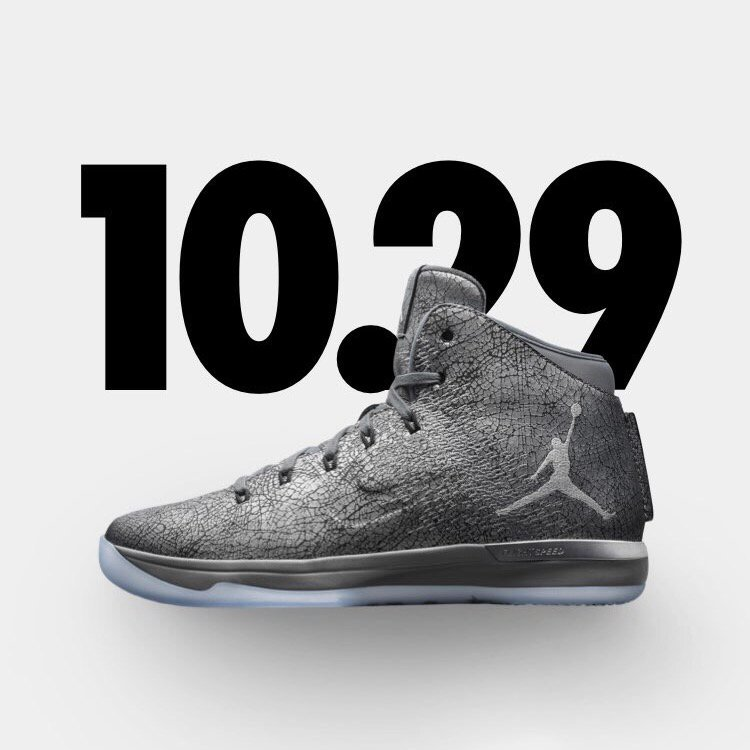 on sale e03d6 12ad6 Air Jordan XXXI 'Battle Grey' - WearTesters
