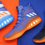 Get Up Close and Personal with Kristaps Porzingis' adidas Crazy Explosive NYK PE's