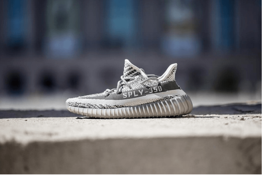 super popular 46e1d 5fb63 Here's Your First Look at the All-Grey adidas Yeezy Boost ...