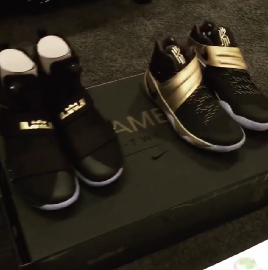 save off f079f 39a29 A Peek at the Nike Kyrie 2 and LeBron Soldier 10 ...