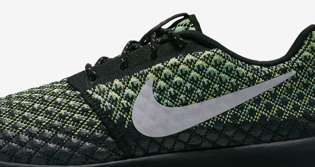 low priced 8530c 7cf04 ... nike roshe two flyknit gold green .