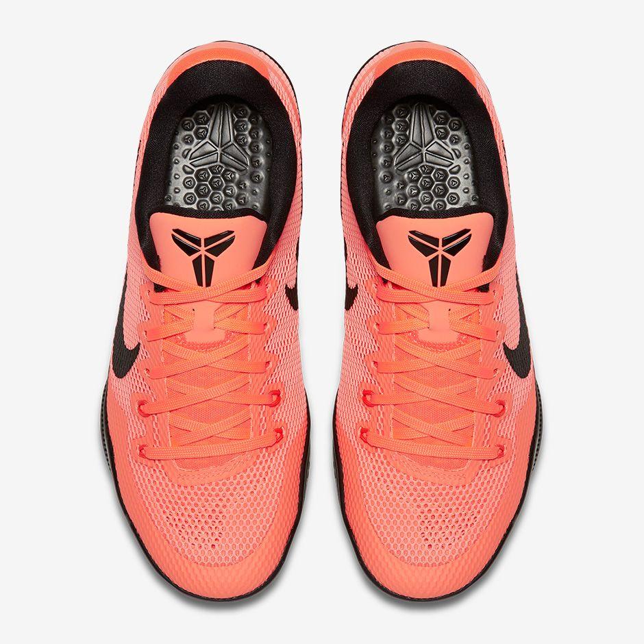 nike kobe 11 flyknit orange pink