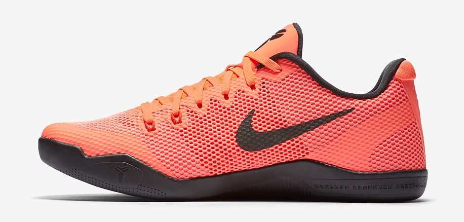 Kobes Shoes  Bright And Black Crimson