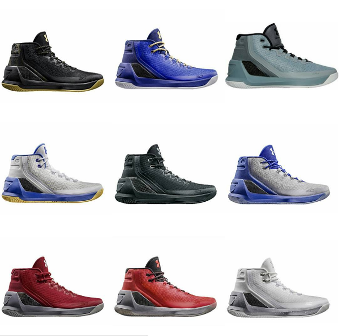 430f10e0 Under Armour Curry 3 | Release Schedule - WearTesters