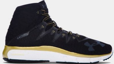 Under armour ua highlight delta black gold 1
