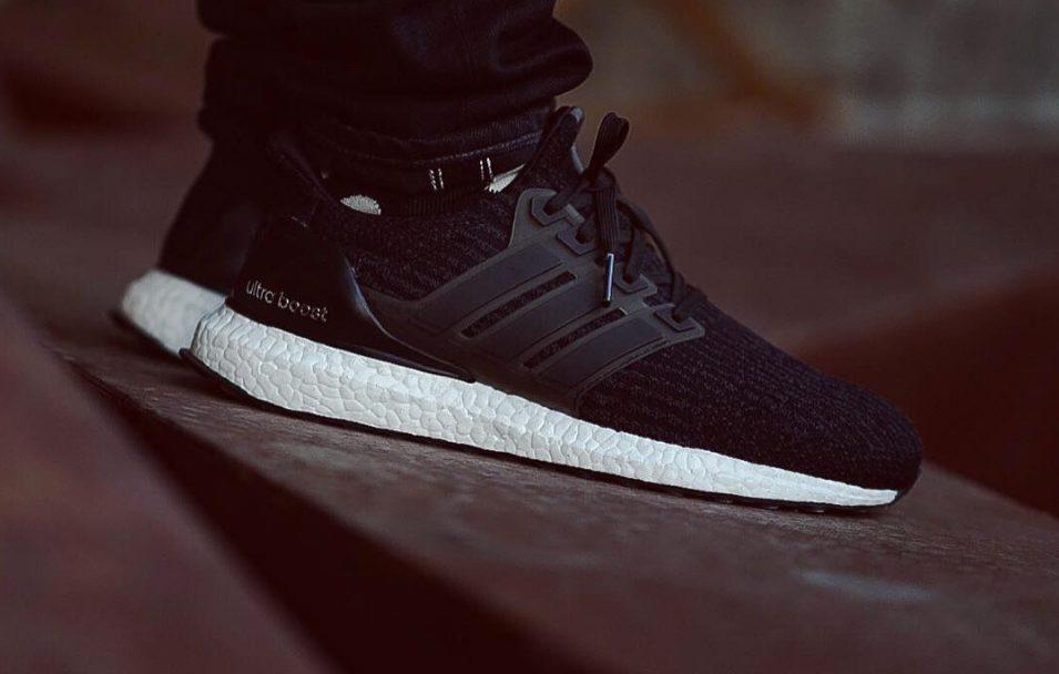 Adidas Ultra Boost 3,0 Svart På Føttene