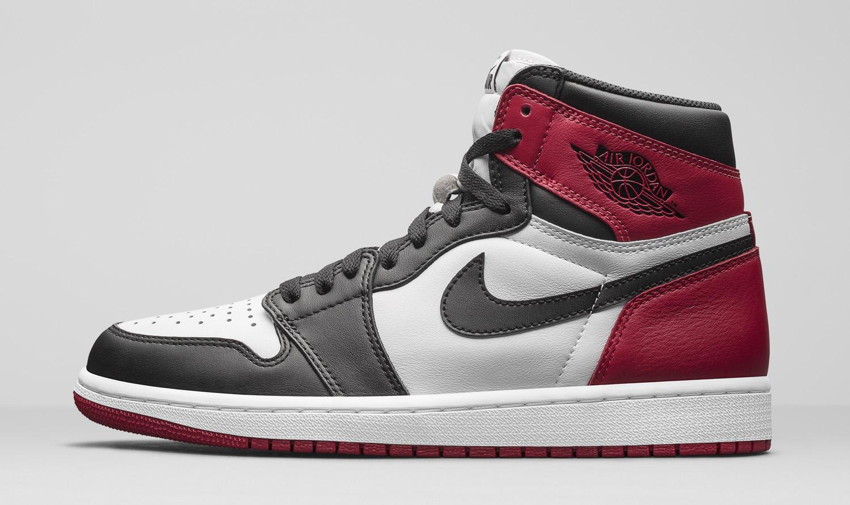 Jordan Shoe  Black Red Original