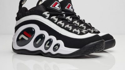 fila bubbles white black red OG 0