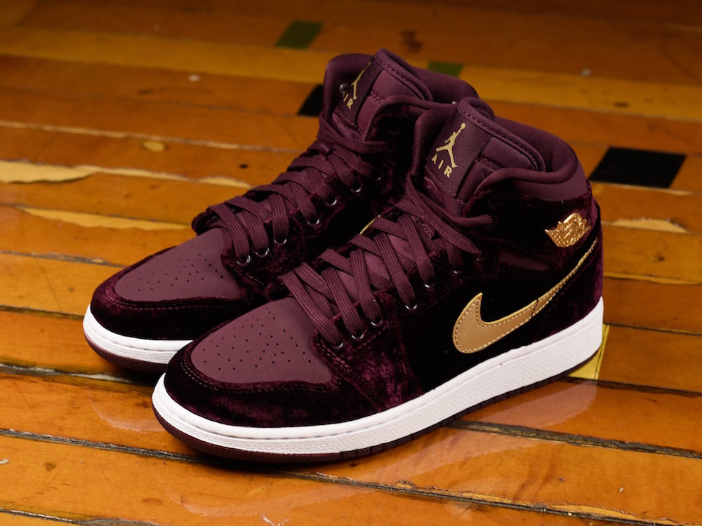 san francisco e30c6 c0339 The Girl's Air Jordan 1 'Heiress Pack' is Available for Pre ...