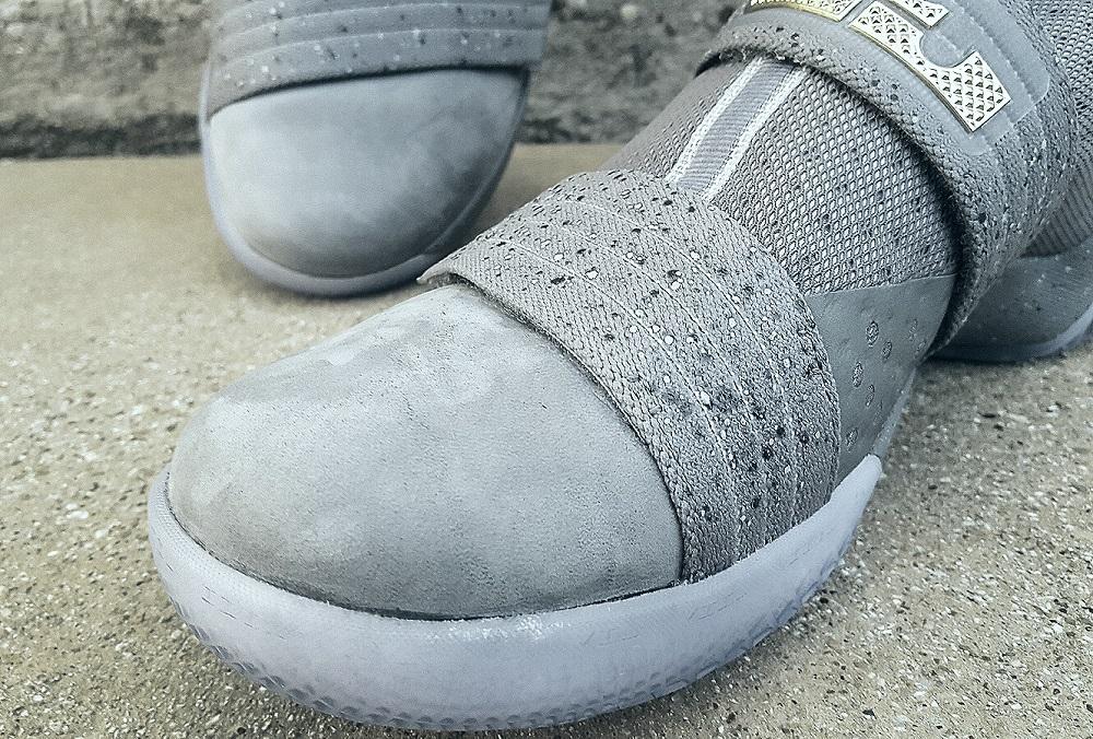 Nike LeBron Soldier X FSG PE Battle Grey 1